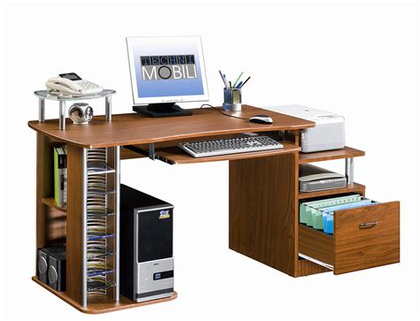 Computer Desk With Cpu Storage Computer Desk With Storage By Rta Products In Desks And Hutches