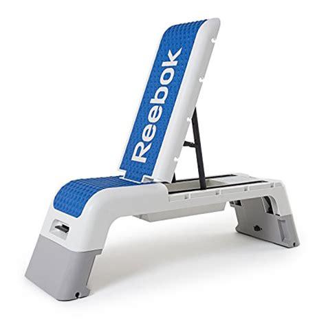 reebok weight bench reebok professional deck workout bench white dark blue
