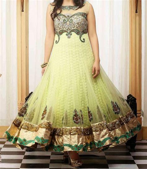 net dress design stylish indian frock suits churidar pajama neck designs