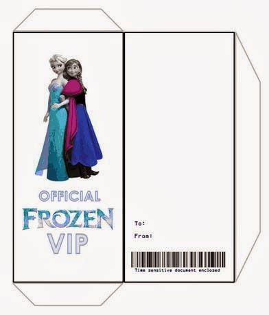 ticket envelope template search results for elsa and invitation template