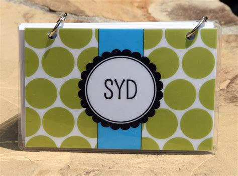 blank recipe cards and holder index card binder 4 x 6 index card holder personalized