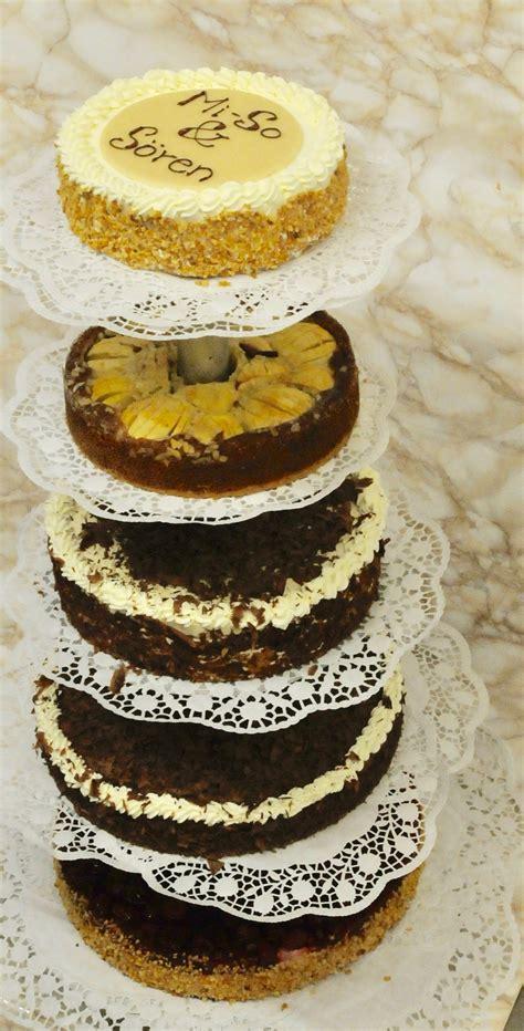Hochzeitstorte 1 St Ckig by Hochzeitstorten Konditorei Caf 233 Altes Rathaus