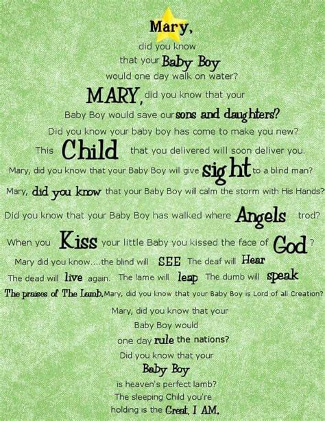 printable lyrics mary did you know 208 best love the holiday images on pinterest peace