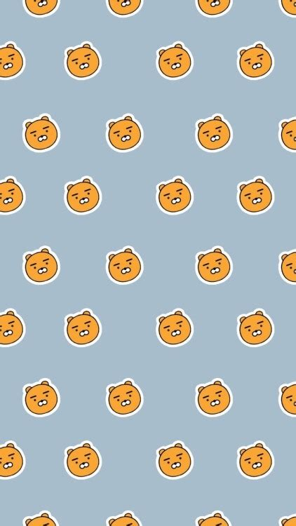 kkt themes iphone kakao friends ryan tumblr