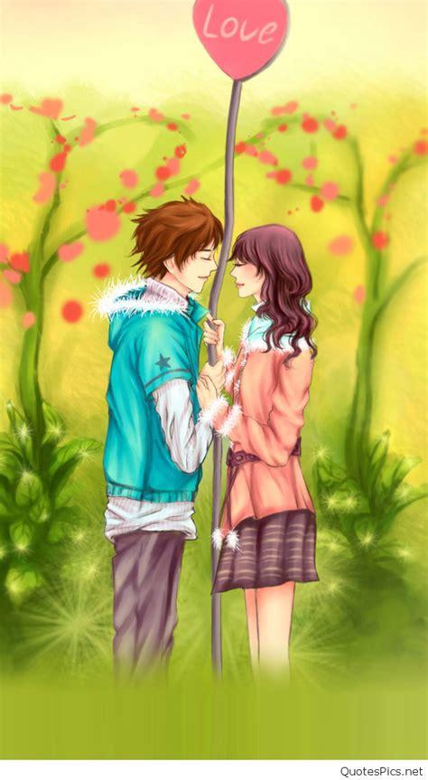 wallpaper romantic couple cartoon download romantic love cartoon wallpaper gallery