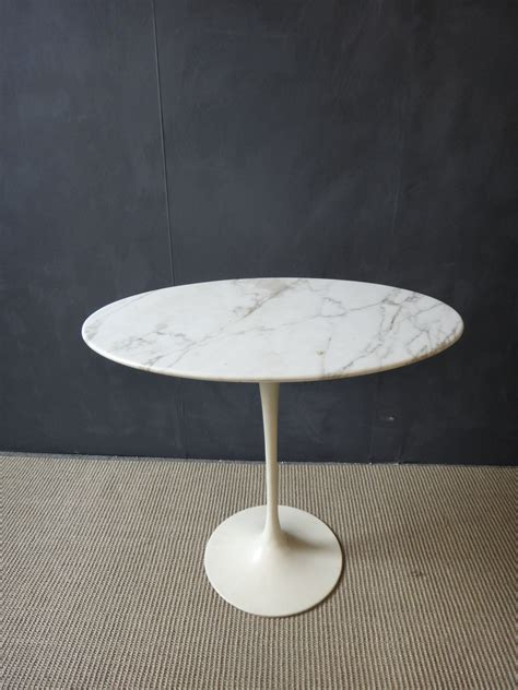 saarinen marble top tulip side table retrocraft design collection tables