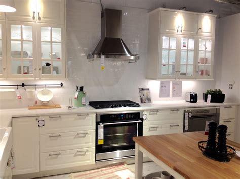 bodbyn white cabinets kuchyn茆