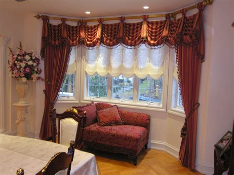 kingston valance with side panels yelp - Rockland Window Covering