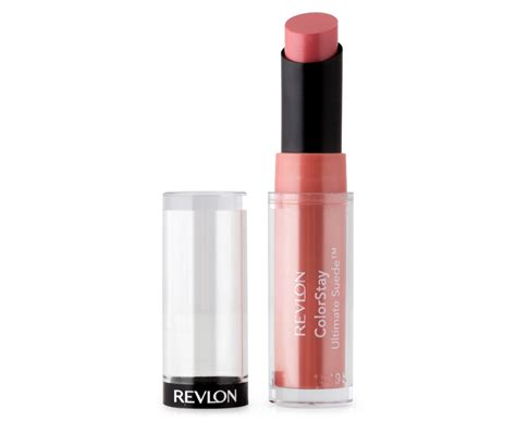 Lipstik Revlon Suede revlon colorstay ultimate suede lipstick 025 socialite
