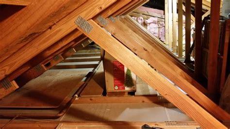 attic area reinforcing garage attic trusses for storage area garage