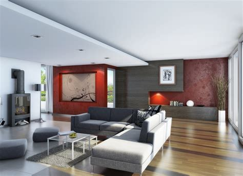 Livingroom Interior by Living Room Wood Flooring