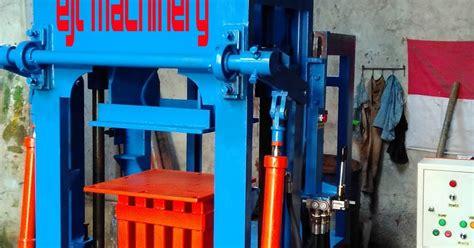 Jual Mesin Cetak Batako Hidrolis jual mesin press paving batako hidrolik semi otomatis