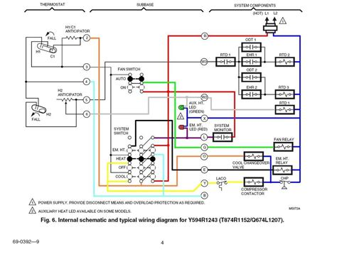 typical heat wiring diagram carrier heat wiring