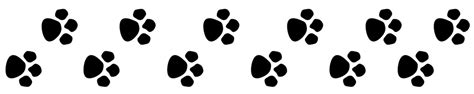 paw print tattoos on dog paw prints scroll clipart 3 6