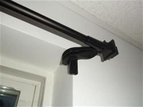 non drill curtain rods 25 best ideas about double curtain rod brackets on
