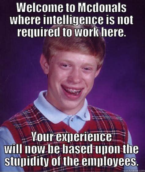 Employee Meme - mcdonalds worker meme www pixshark com images