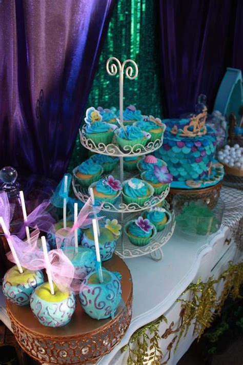 little decorations kara s party ideas little mermaid birthday party ideas