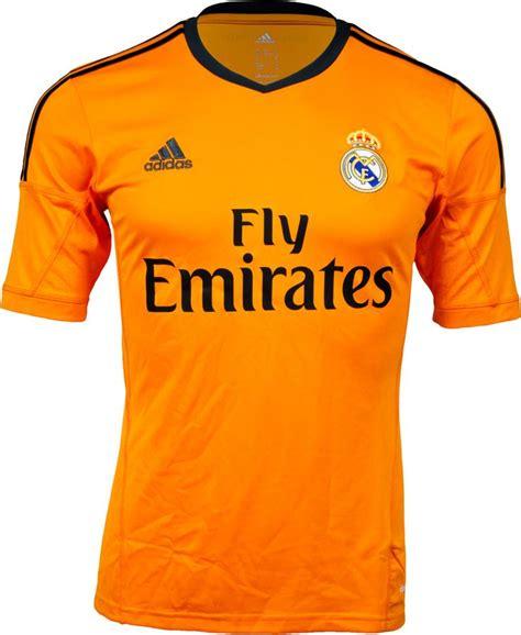 Jersey Madrid 3rd adidas real madrid 3rd alternate jersey 2013 14 orange free shipping 10 80 99