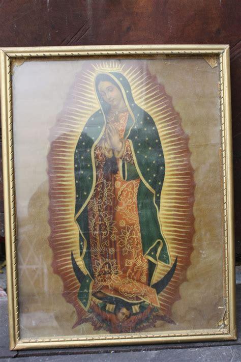 Imagenes De La Virgen De Guadalupe Antiguas | antigua y original virgen de guadalupe 1 500 00 en