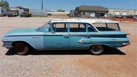 1960 chevy impala wagon 1960 chevrolet parkwood wagon original paint brookwood