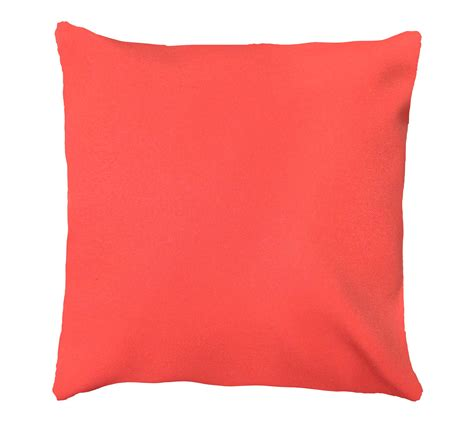 Throw Pillow For by Coral Throw Pillow Cover Pillow Cover Coral Solid Pillow