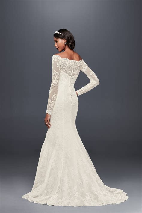 casual wedding dresses at affordable prices db studio by db studio illusion short sleeve long lace sheath wedding