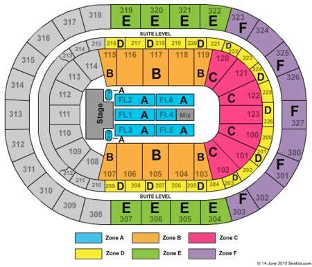 niagara center detailed seating chart niagara center seating chart with seat numbers