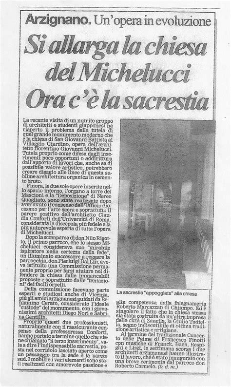 ad giornale di arredamento arredamento in legno sacrestia e chiesa san battista
