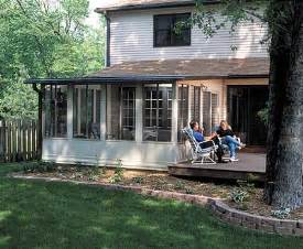 sunroom on deck convert an existing deck into a sunroom sunrooms by