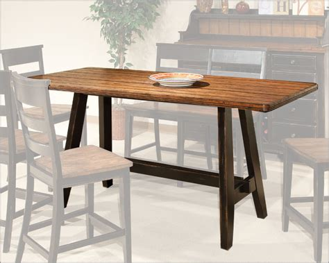 Dining Table Bar Height Intercon Counter Height Dining Table Winchester In Wn Ta 3678g Bhn Tab