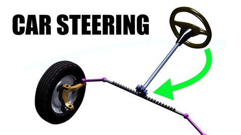 how does rack and pinion steering work on a boat how car steering works rack pinion youtube