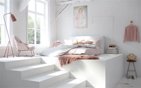Pink And White Bedroom Designs 40 Serenely Minimalist Bedrooms To Help You Embrace Simple Comforts
