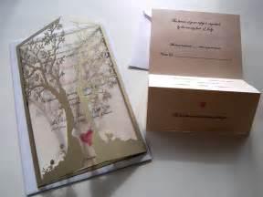 laser cut tree wedding invitations laser creative tree custom laser cut wedding