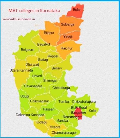 Mat For Mba In India by Mba Colleges Accepting Mat Score In Karnataka Mat Colleges