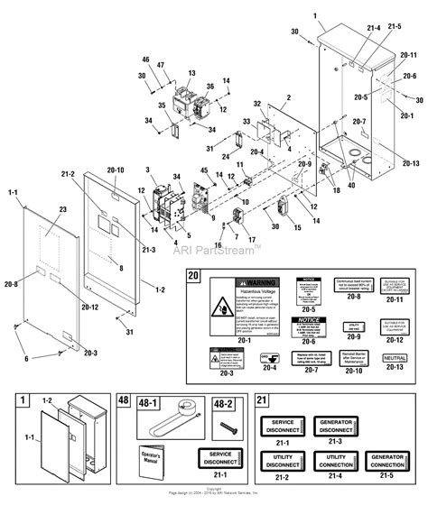 generator for emergency sub panel engine diagram and