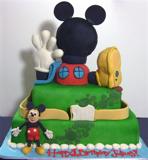 images  mickey mouse theme  pinterest sheet cakes boys  party ideas