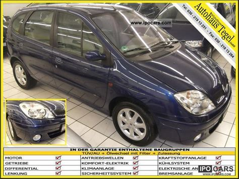 renault scenic 2002 specifications 2002 renault scenic 71 tkm automatic climate control