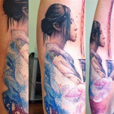 significato tattoo geisha con spada michele offthemaptattoo com geisha sword geisha con la