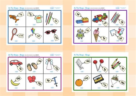 printable money board games ks1 twinkl resources gt gt toy shop bingo gt gt printable resources