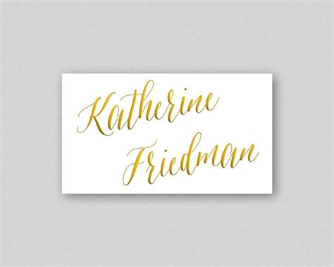 Diy Wedding Name Card Template by Printable Place Cards Diy Template Digital Wedding