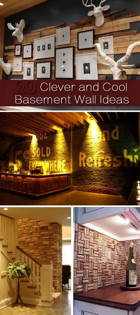 basement brick wall ideas 20 clever and cool basement wall ideas hative