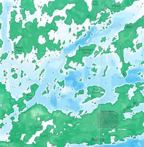 themapstore lac des mille lacs ontario canada