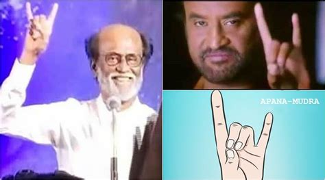 actor rajinikanth party name is rajinikanth s party symbol the same as apana mudra for