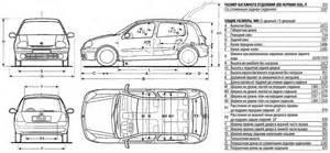 Renault Clio Dimensions Renault Clio Ii Workshop Repair Manual