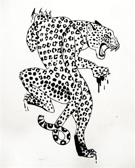 leopard tattoo design leopard ideas and leopard designs page 4