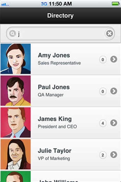 employee directory sample app with backbone js and jquery