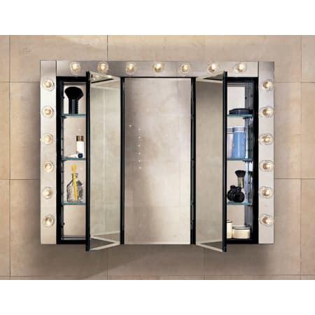 triple door mirrored medicine cabinet robern plm3630b black 36 quot triple door mirrored medicine