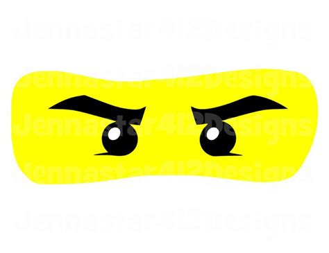 ninjago printable eyes 52 best images about silhouette cameo on pinterest