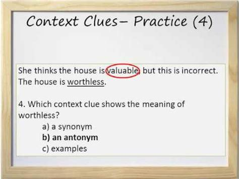 Synonyms And Antonyms Context Clues Worksheets by Context Clues And Worksheet Synonyms Antonyms