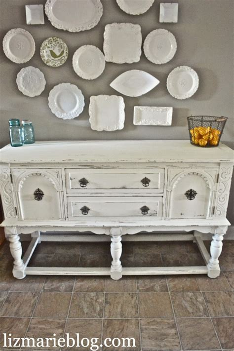 diy chalk paint with unsanded grout lovely shabby white buffet chalk paint unsanded grout